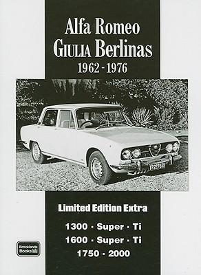 Alfa Romeo Giulia Berlina Limited Edition Extra By Clarke, R. M. (COM)